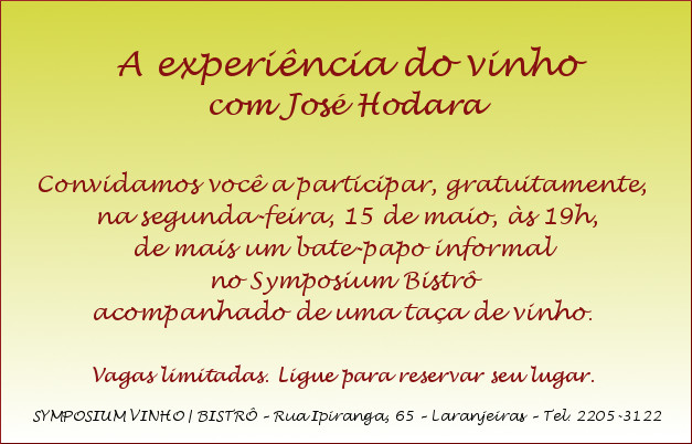 A EXPERIENCIA DO VINHO 20170515